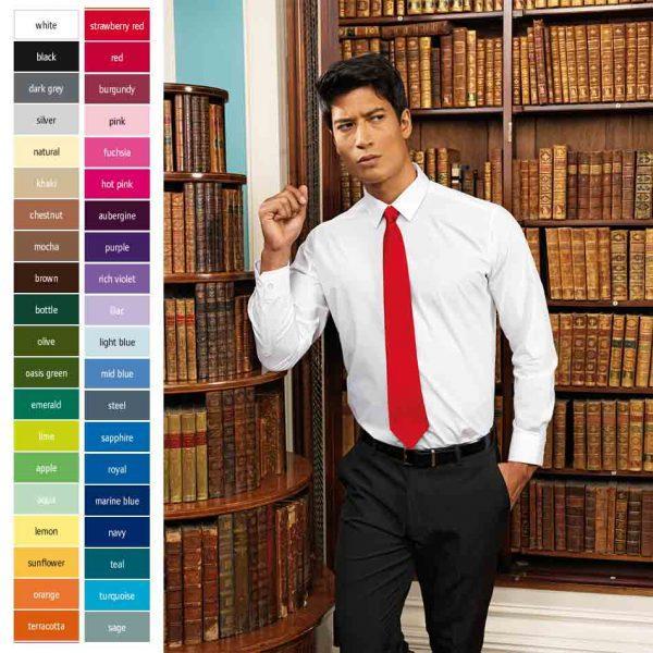 premier_PR750 Colours Colllection Satin kravate