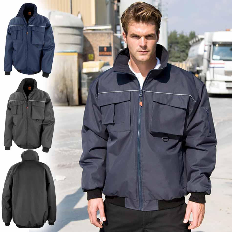 Delovna podložena jakna Pilot Result 300X | Majice-tisk